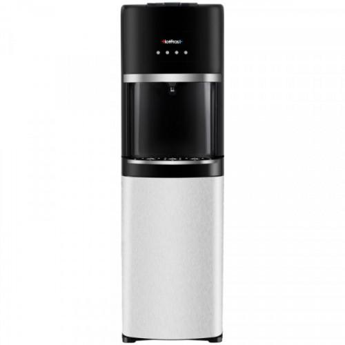 Кулер для воды напольный HotFrost 35AEN, нагрев/охлаждение электрон., черный/стальной