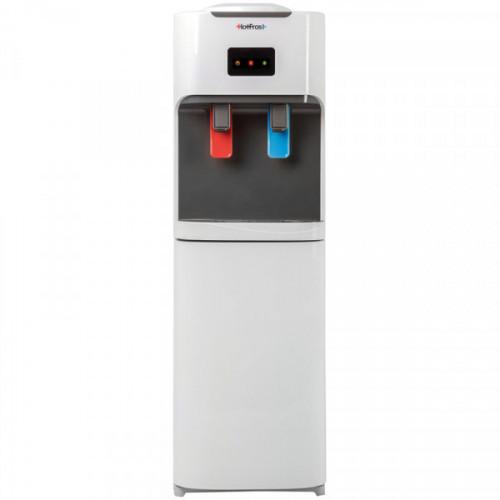 Кулер для воды напольный HotFrost V115CE, нагрев/охлаждение электрон., со шкафом, белый
