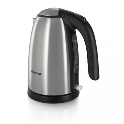 Чайник Bosch TWK7801 серебристый 1.7 литра