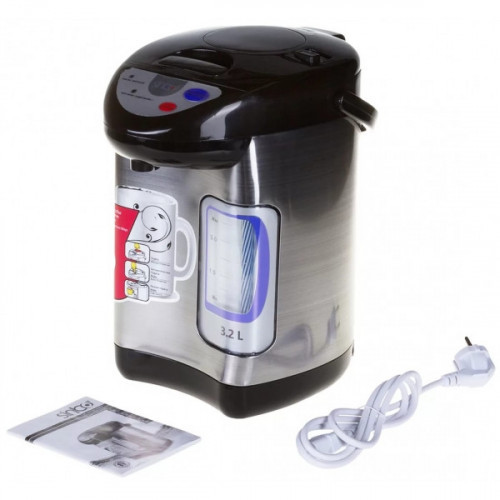Термопот Sinbo SK 2395 черный/серебристый 3.2 литра 730 Вт