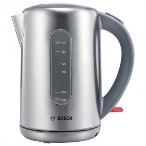 Чайник Bosch TWK7901 серебристый 1.7 литра