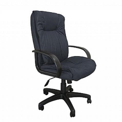 Кресло руководителя (микрофибра черная MF111-2)