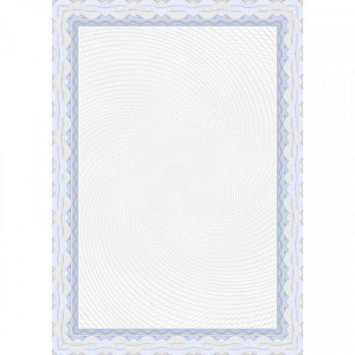 Сертификат-бумага DC-OSD4040 синий,спираль (А4,115г,уп.25л.)