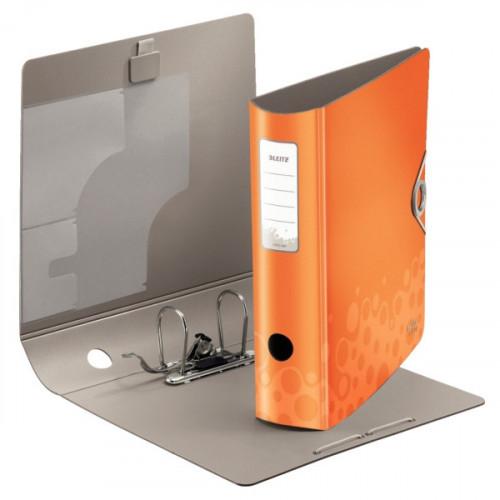 Папка с арочным механизмом Leitz 180° BeBop 75 мм оранжевая