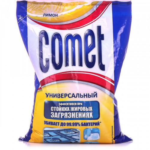 Порошок COMET лимон 400 грамм (пакет)