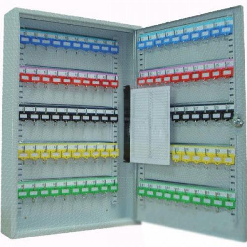 Шкаф для ключей Office-Force 20086 серый (на 100 ключей, металл)