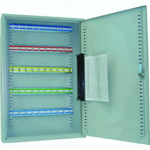 Шкаф для 50 ключей, серый 550х380х80 Office-Force