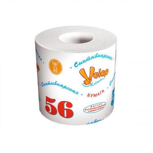 Бумага туалетная Veiro белая 39 м/рул