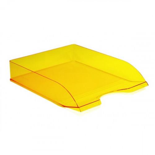 Лоток горизонтальный ДЕЛЬТА желтый