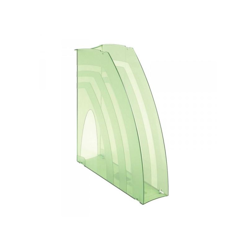 Вертикальный накопитель Attache 70 мм тонированный зеленый 2 штуки