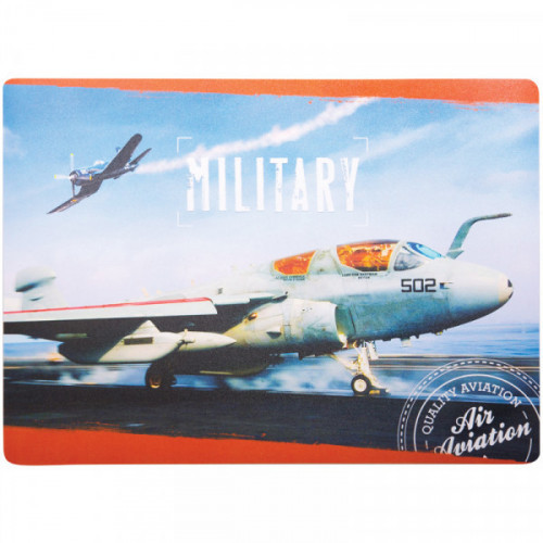 """Коврик на стол детский ArtSpace """"Военные самолеты"""", 24*33,5см"""