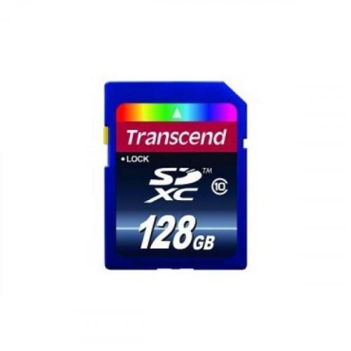 Карта памяти Transcend SDXC 128GB Class10(TS128GSDXC10)
