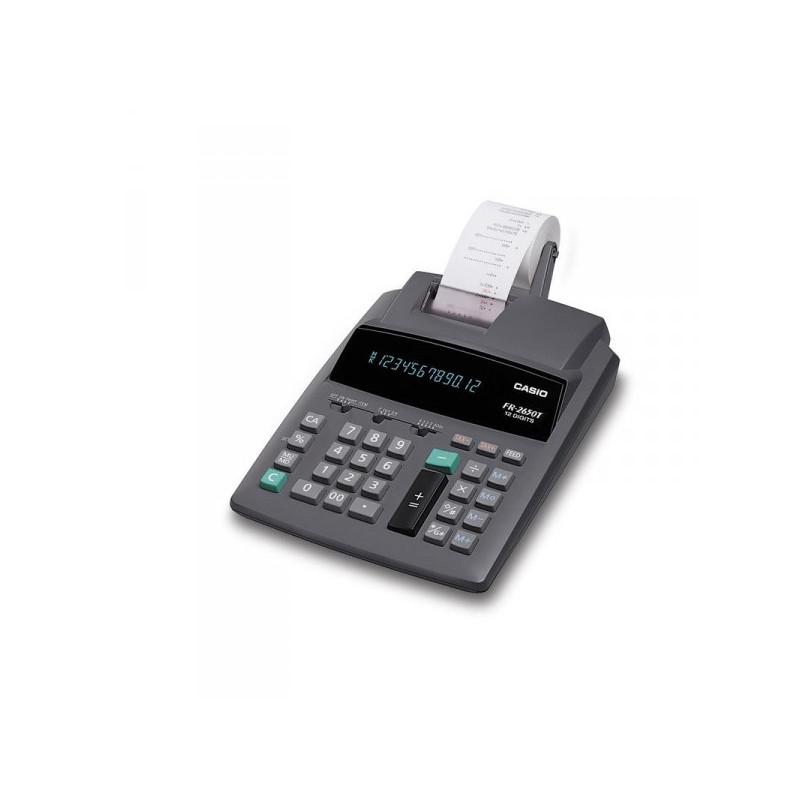 Калькулятор печатающий Casio FR 2650T 12-разрядный
