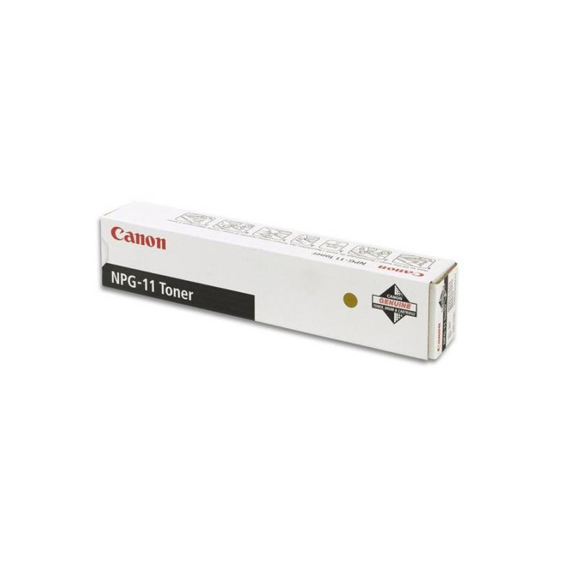 Тонер-картридж лазерный Canon NPG-11 1382A002 черный оригинальный
