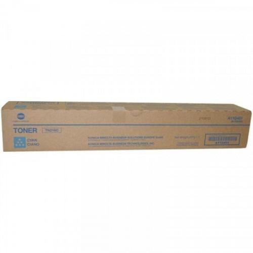 Тонер-картридж лазерный Konica Minolta TN-216C голубой оригинальный