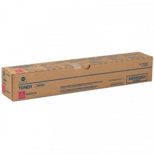 Тонер-картридж лазерный Konica Minolta TN-216M пурпурный оригинальный