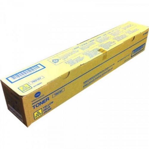 Тонер-картридж лазерный Konica Minolta TN-216Y желтый оригинальный