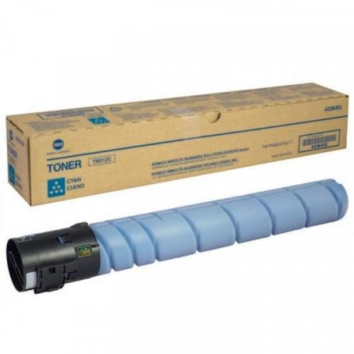 Тонер-картридж лазерный Konica Minolta TN-512C голубой оригинальный