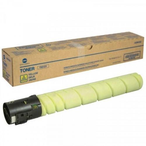 Тонер-картридж лазерный Konica Minolta TN-512Y желтый оригинальный