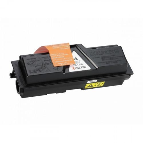 Тонер-картридж лазерный Kyocera TK-1100 черный оригинальный