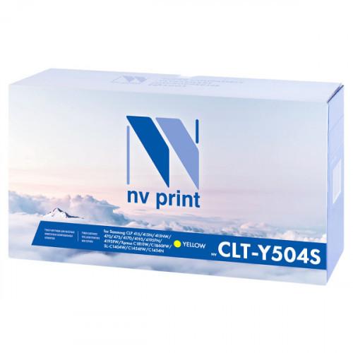 Картридж NV Print совместимый Samsung CLT-Y504S Yellow  (1800k)