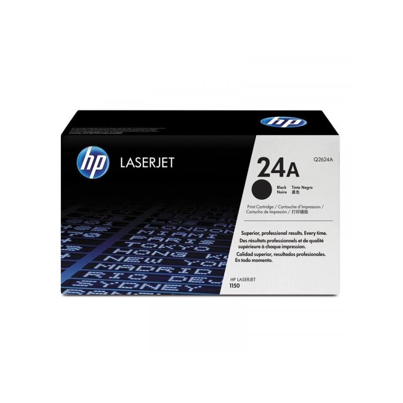 Картридж лазерный HP 24A Q2624A черный оригинальный