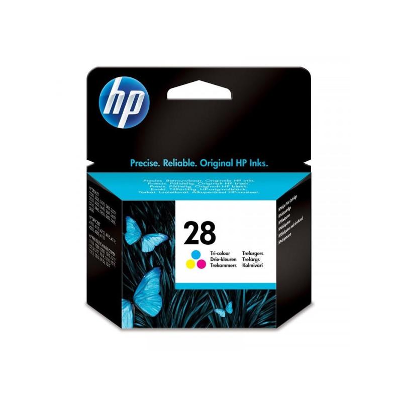 Картридж струйный HP 28 C8728A цветной оригинальный