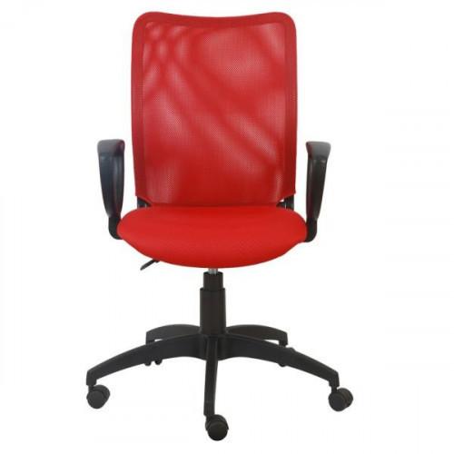 Кресло CH-599/R/TW-97N красное
