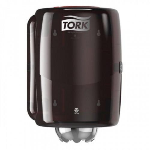Держатель для рулонных полотенец TORK (Система M2) Performance, с центральной вытяжкой, черный, 659008