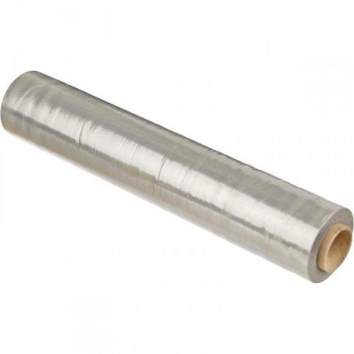 Стрейч-пленка для ручной упаковки вес 2 кг 17 мкм x 50 см x 255 м престрейч 200%,смесовое сырье