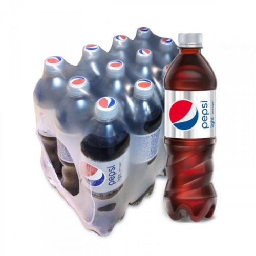 Напиток Pepsi Light газированный 0.6 литра по 12 штук в упаковке