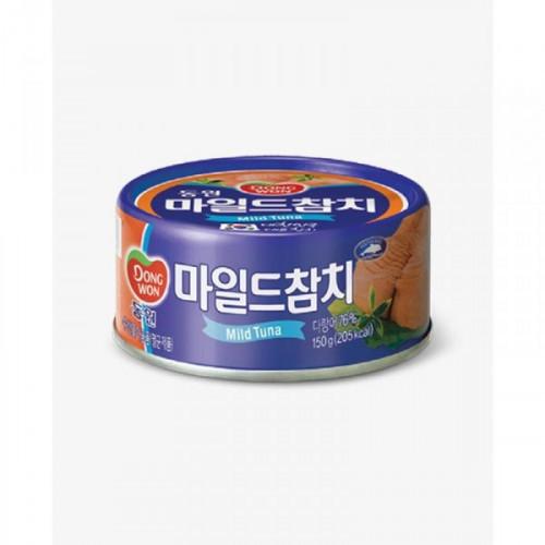 Тунец Dongwon консервированный в масле в грибном соусе 150 грамм