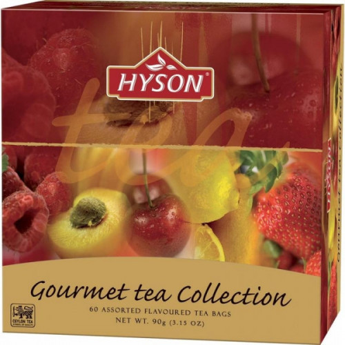 Чай Hyson черный Gurmet Tea Collection 60 пакетиков