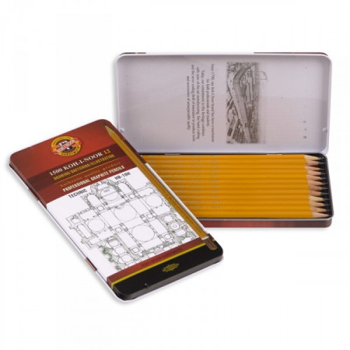 Набор карандашей Koh-I-Noor без ластика заточенные 12 штук