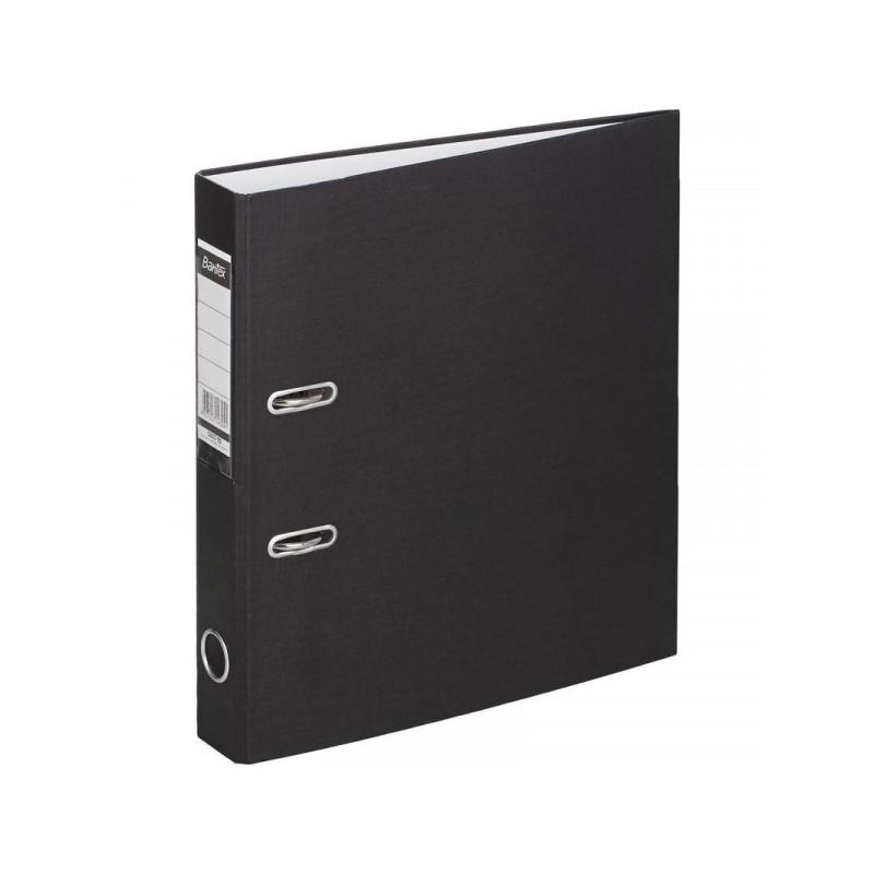 Папка с арочн.мех. BANTEX ECONOMY 50мм 1447-10 картон.черная