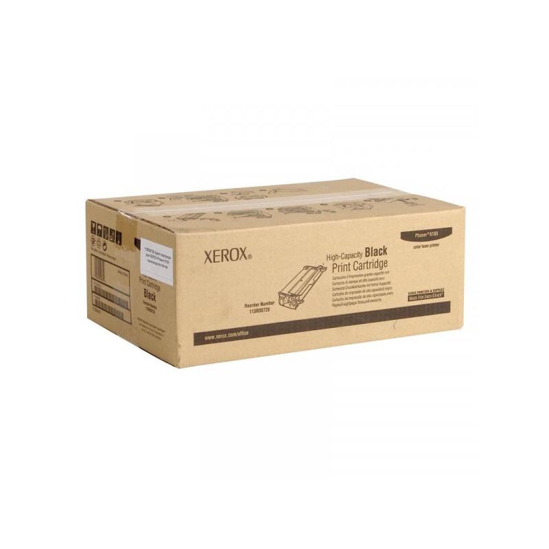 Картридж лазерный Xerox 113R00726 черный оригинальный
