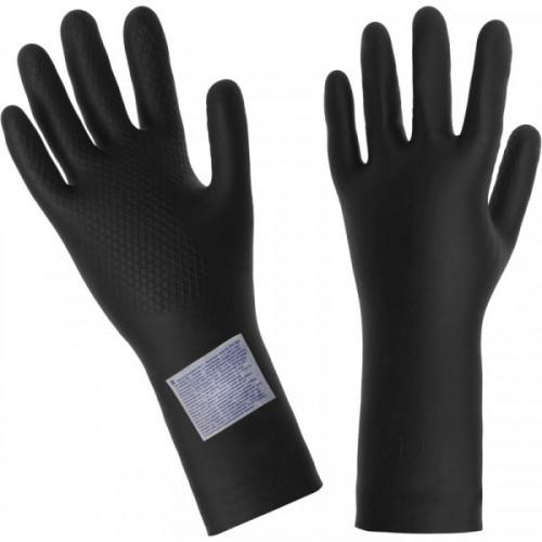 Перчатки КЩС тип I размер 9/L К20Щ20
