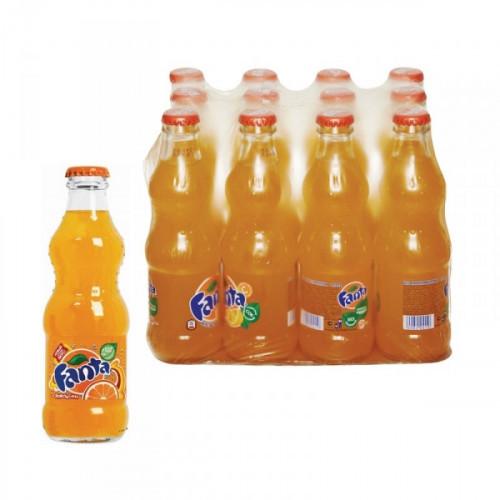 Напиток Fanta газированный 0.25 литра 12 штук в упаковке