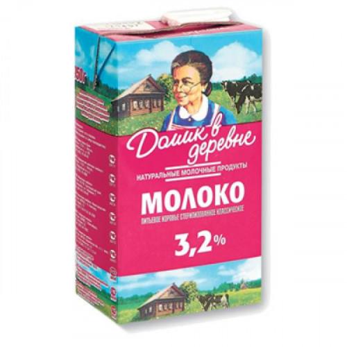 Молоко Домик в деревне ультрастерилизованное 3,2% 950 г