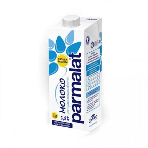 Молоко Parmalat ультрапастеризованное 1,8% 1 литр